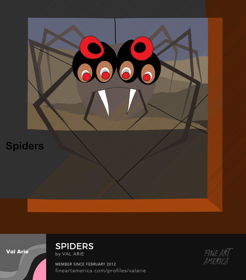Spiders by Val Arie
