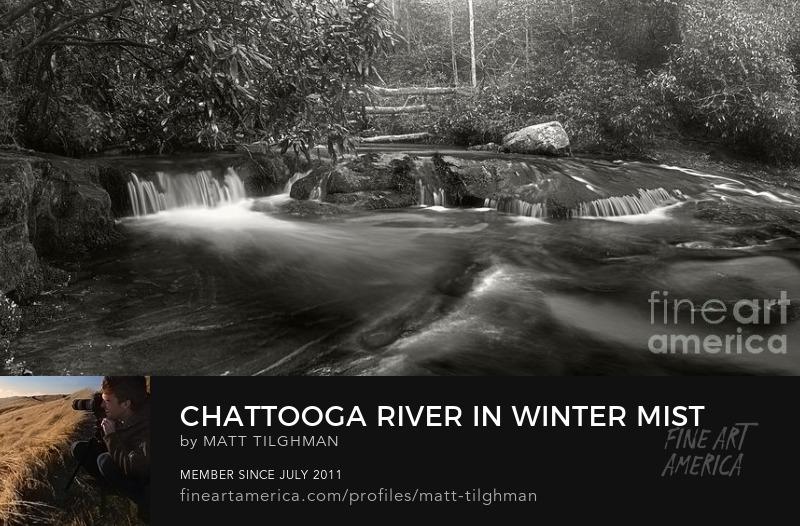 Chattooga River Rapids Art Prints