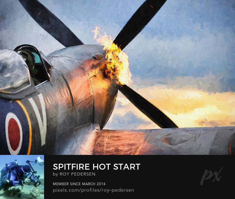 Spitfire Hot Start by Roy Pedersen