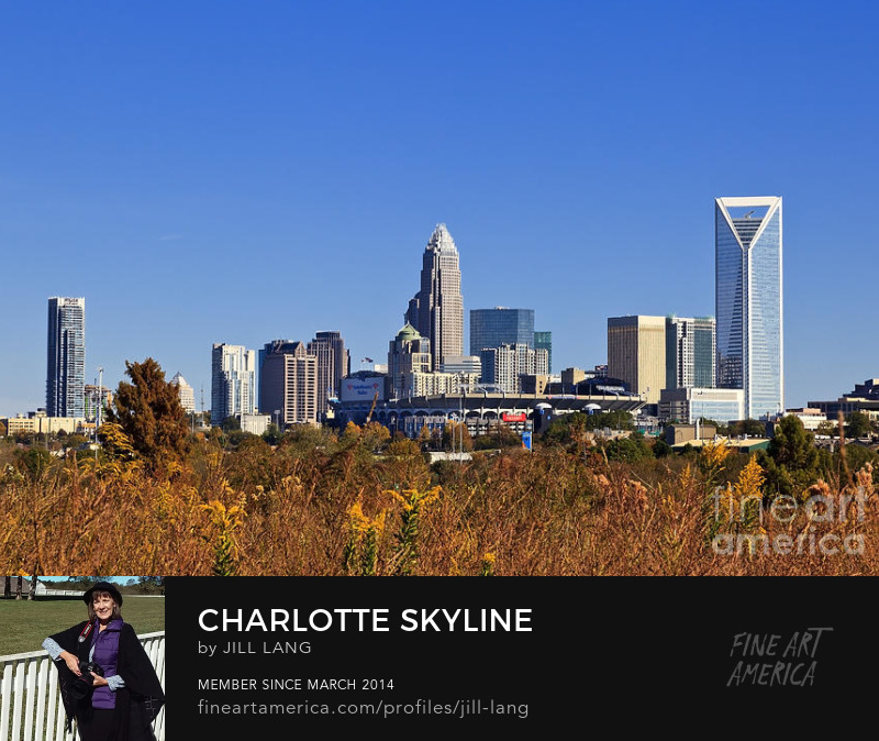 Charlotte Skyline from Wilkinson Blvd