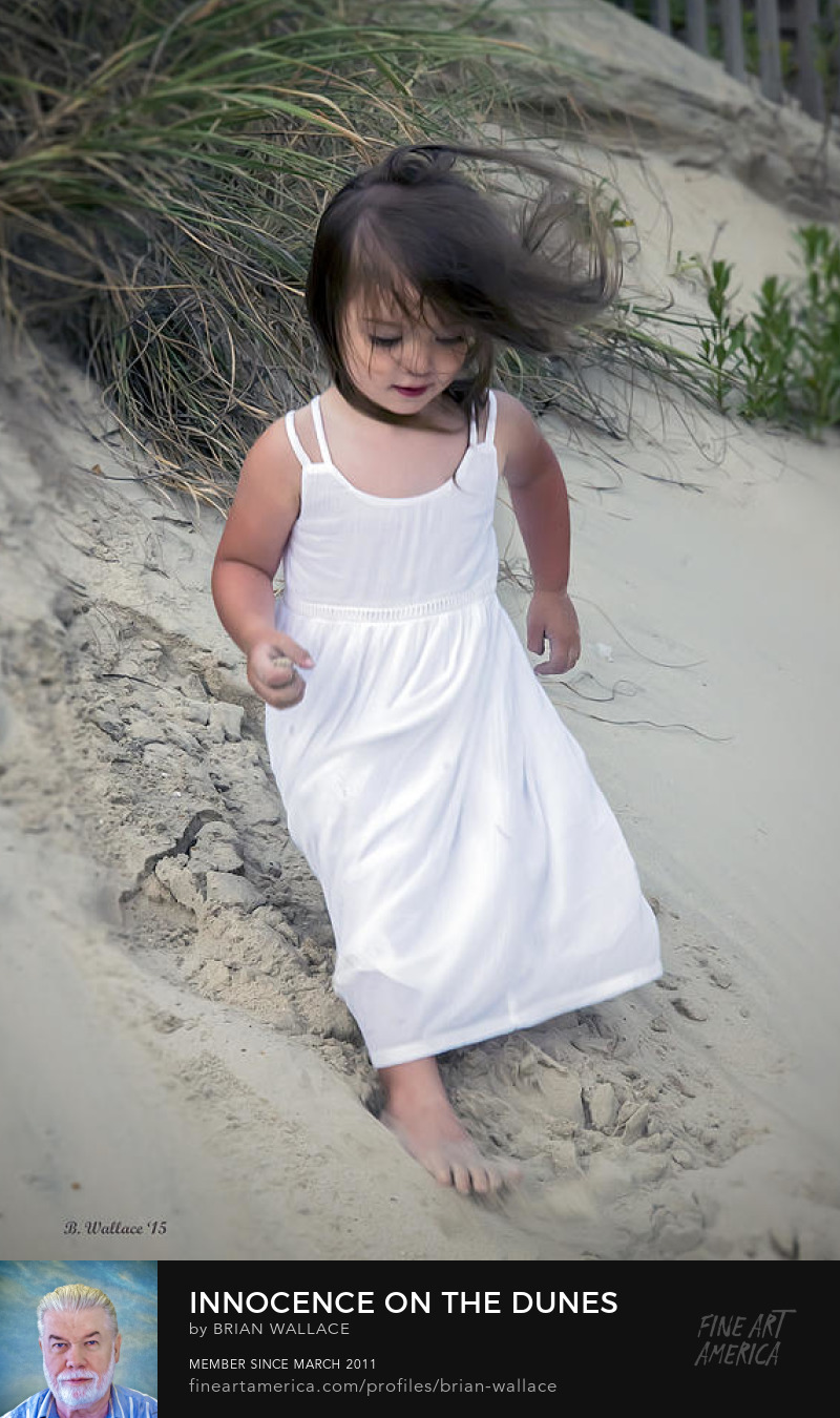 Innocence On The Dunes by Brian Wallace