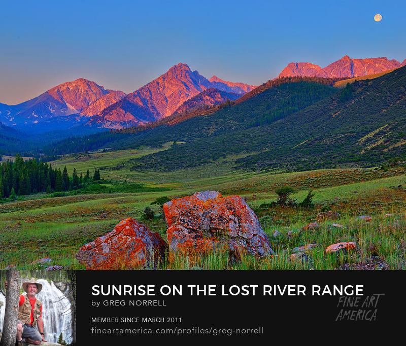 Lost River Range Sunrise