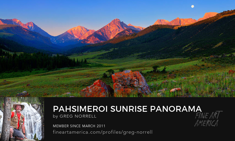 Pahsimeroi Sunrise Panorama
