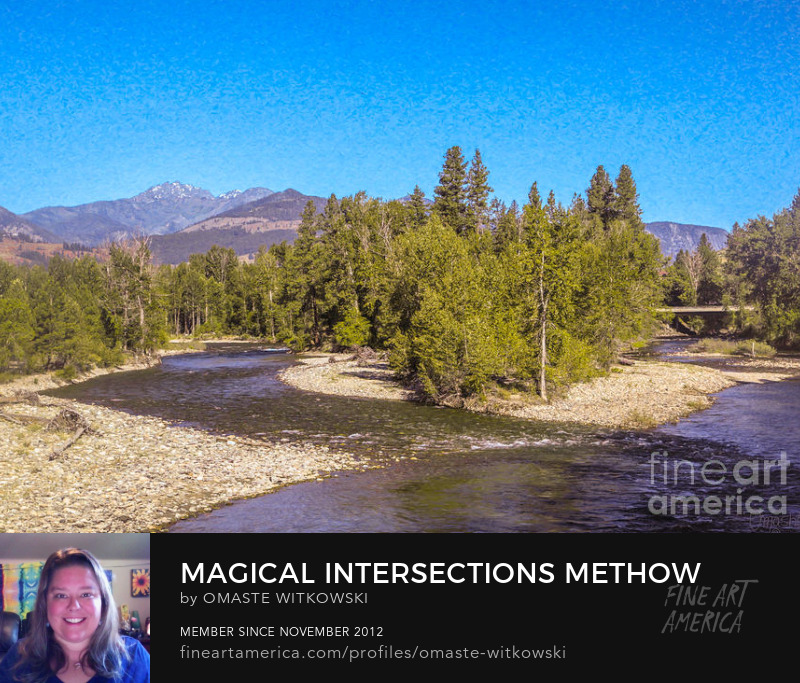 Magical Intersections Methow Valley Landscapes By Omashte
