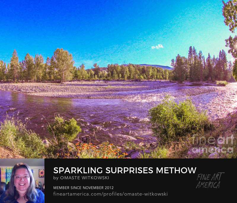 Sparkling Surprises Methow Valley Landscapes By Omashte