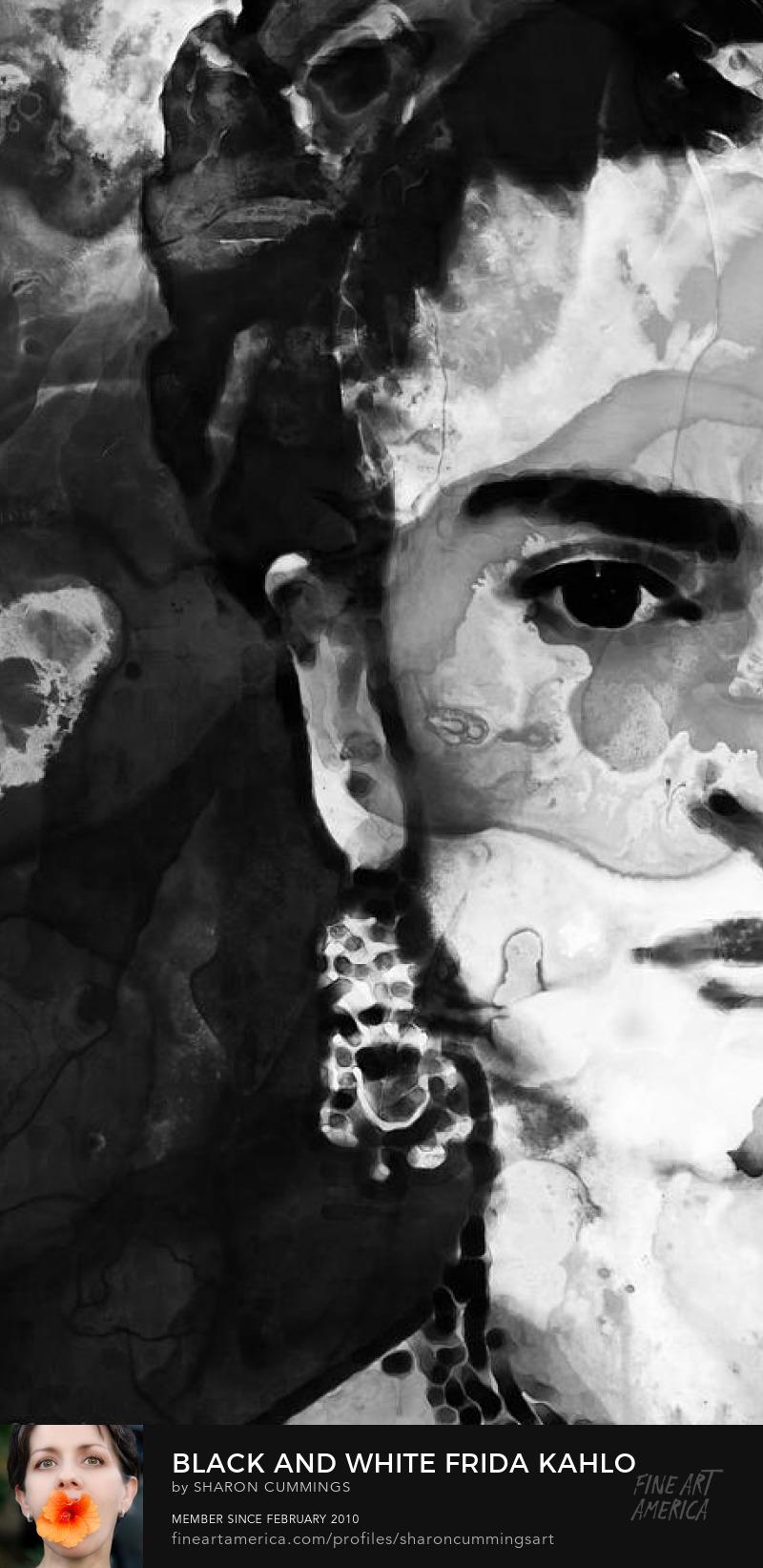 Frida Kahlo Portrait Art