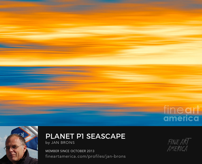 Planet P1 seascape - Sell Art Online