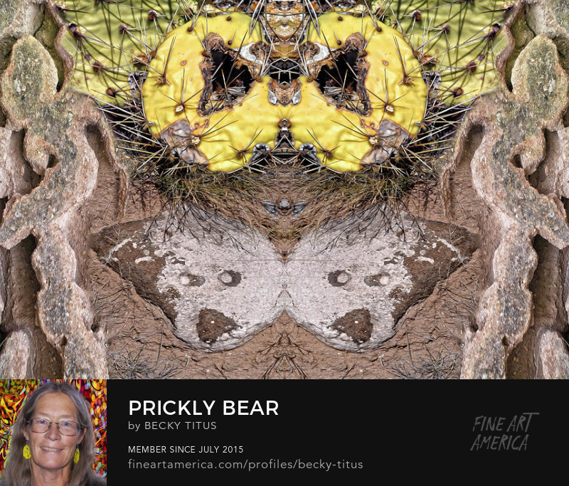 Prickly Bear by Becky Titus