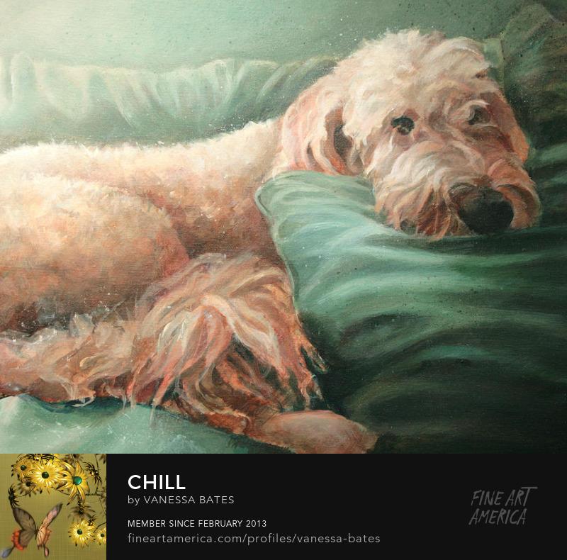 Chill by Vanessa Studio in Blue