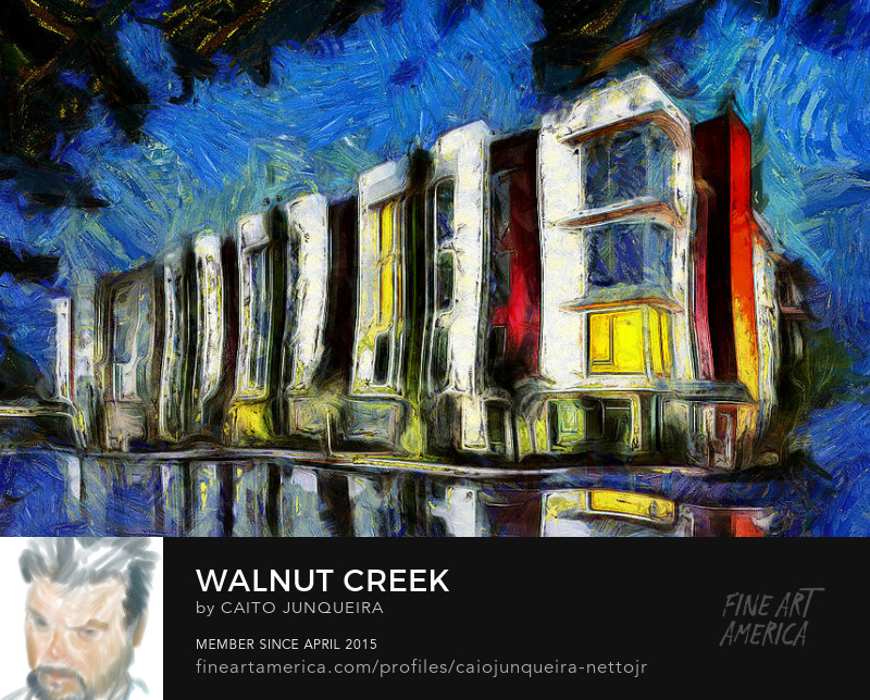 Buy Walnut Creek Art Print Poster