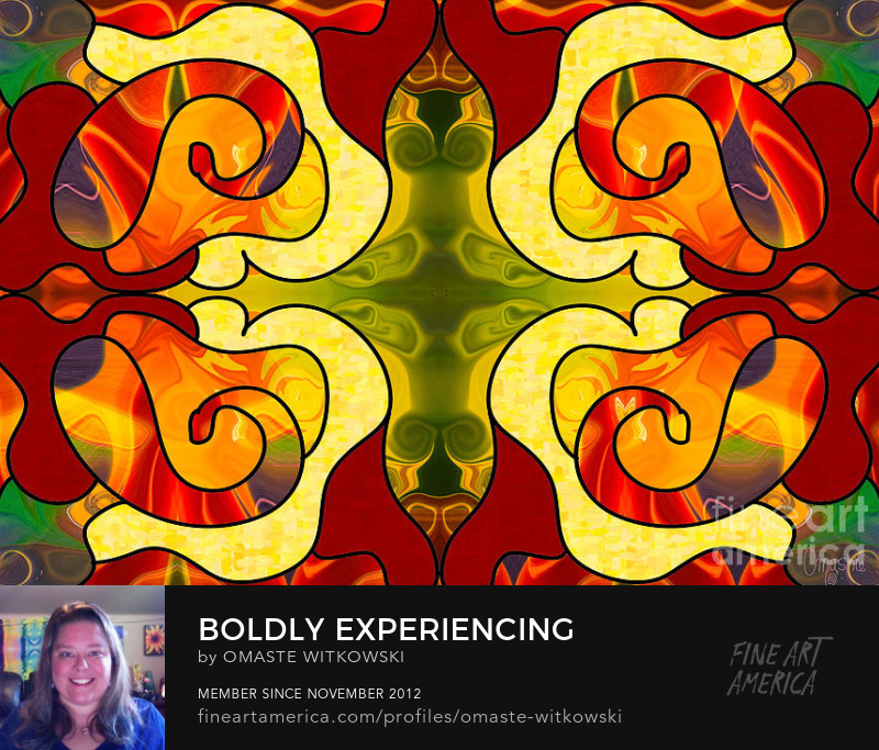 Boldly Experiencing Consciousness Abstract Art By Omashte Sell Art Online