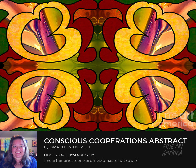 Conscious Cooperations Abstract Art By Omashte Sell Art Online