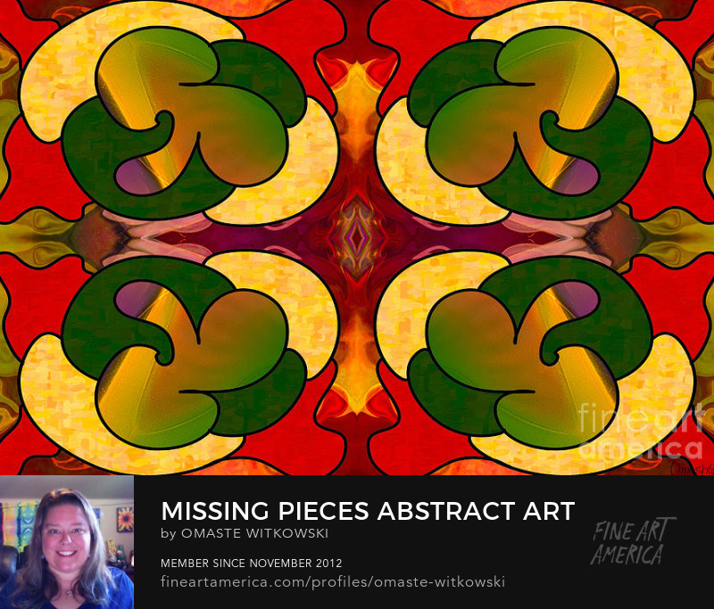 Missing Pieces Abstract Art By Omashte Photography Prints
