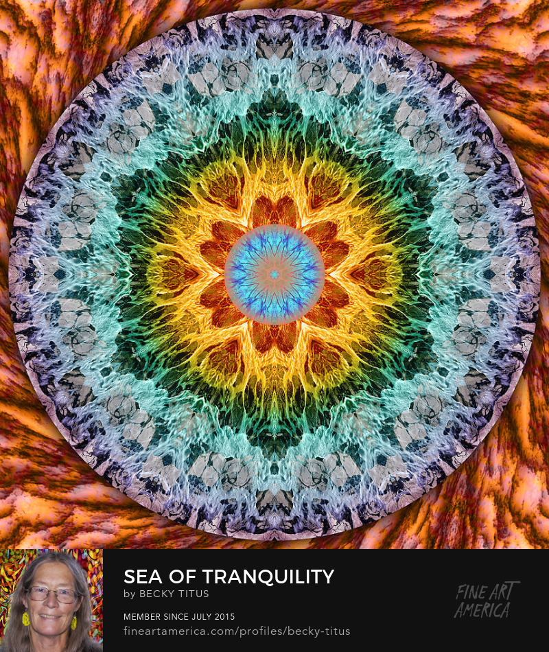 Sea of Tranquility by Becky Titus