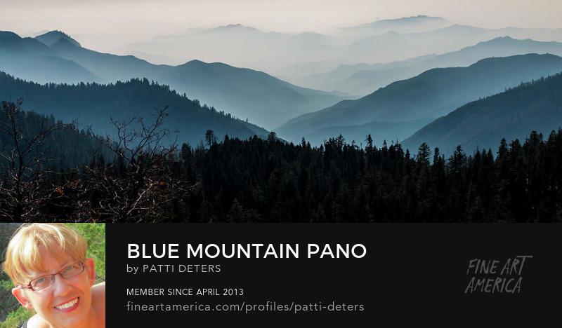 blue, hills, panoramic, ©patti-deters-pixels.com