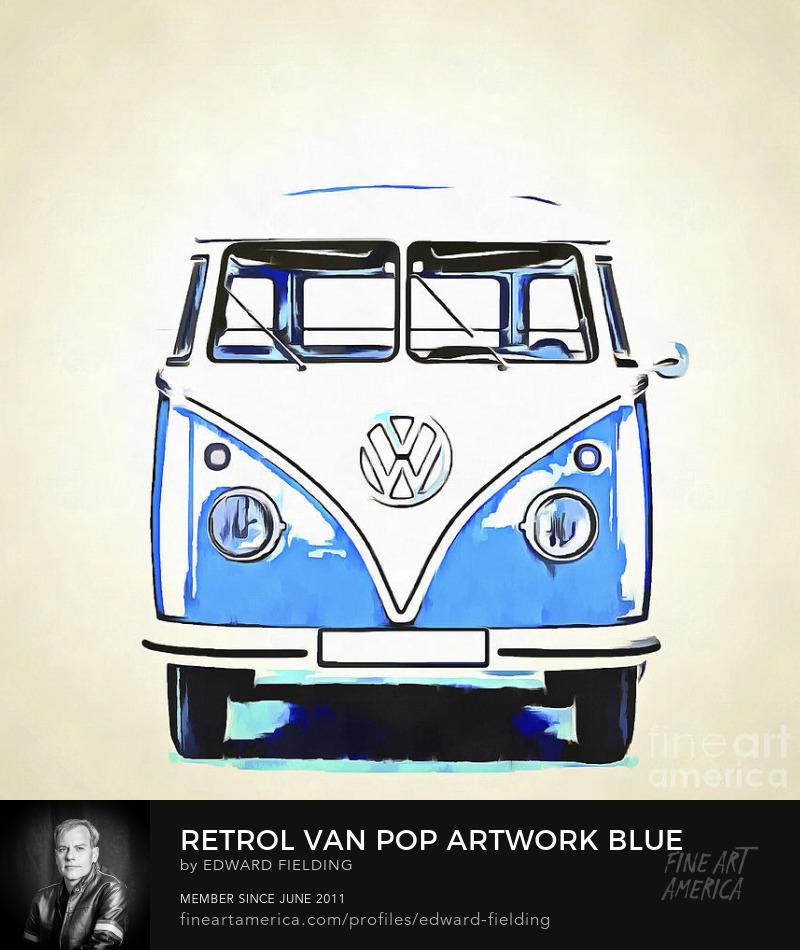 VW Van Art Prints
