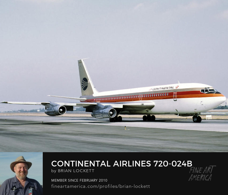 Continental Airlines 720-024B N17207