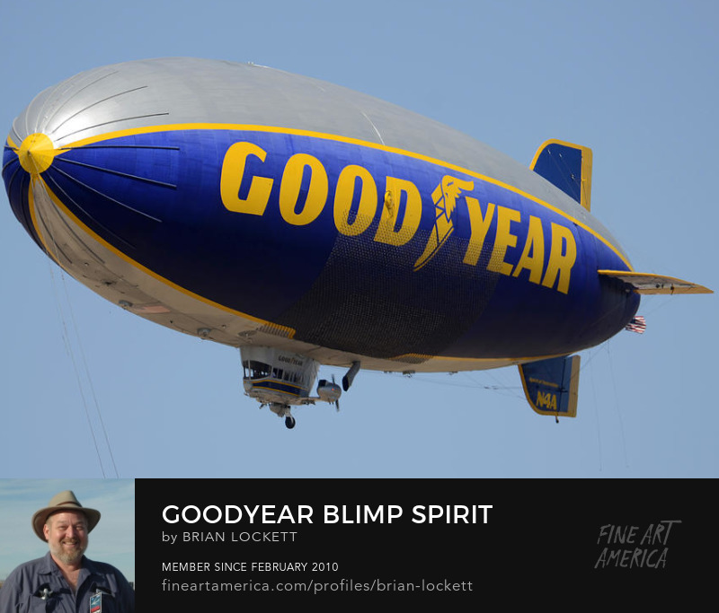 Goodyear Blimp Spirit Of Innovation