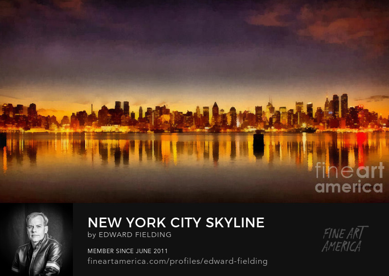 NYC New York City Skyline Art Prints
