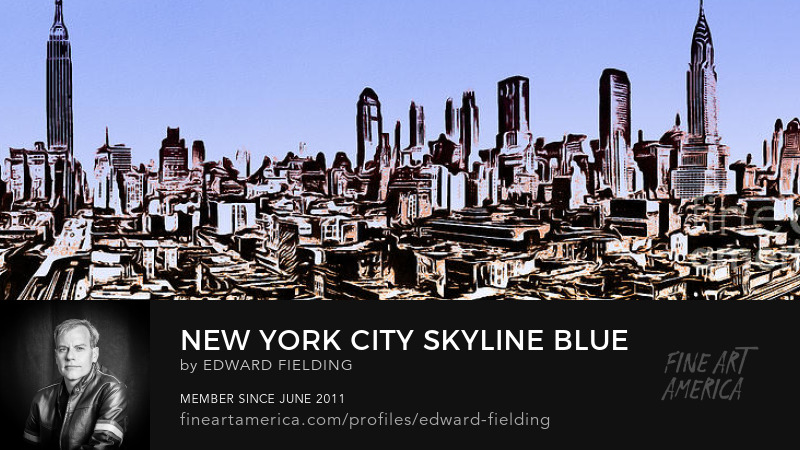 NYC New York City Skyline Art Online