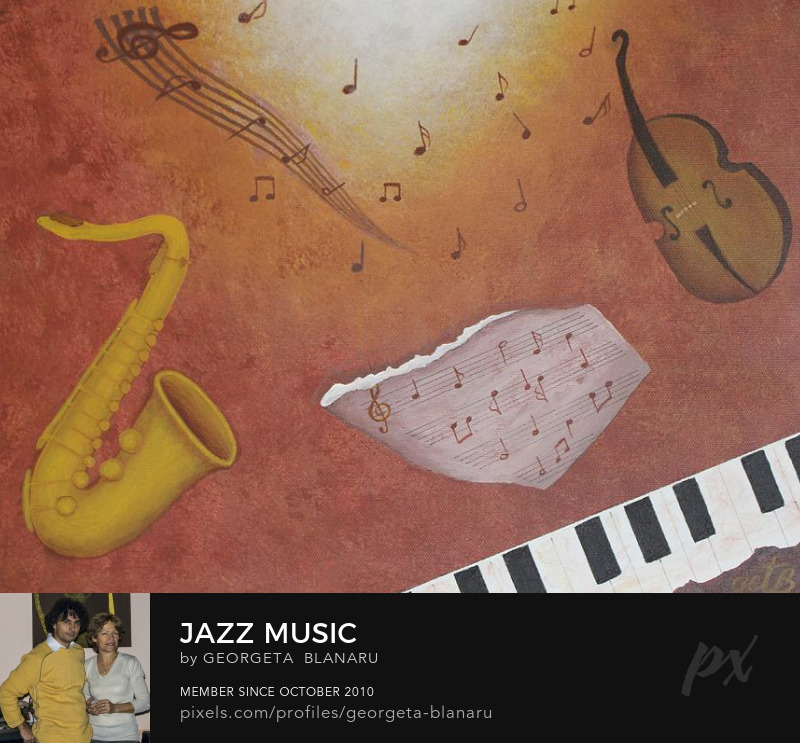 Art Prints Jazz Music FineArtAmerica Pixels Store
