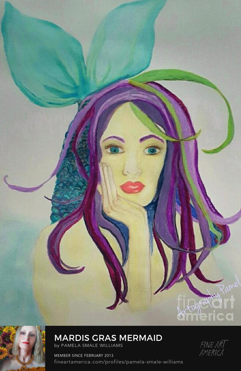Fantasy portrait art Prints