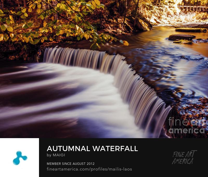 Autumnal Waterfall :: maigi