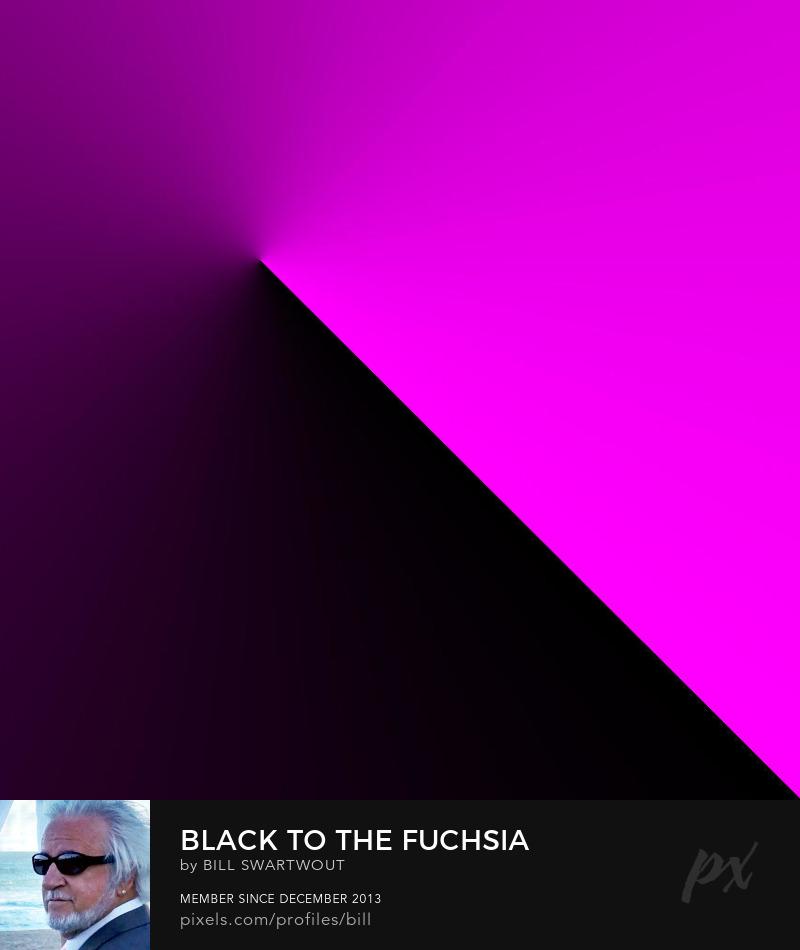 Black to the Fuchsia Photography Prints