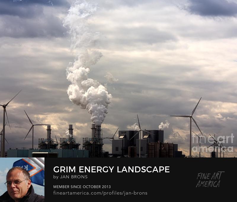 Grim energy landscape - Photography Prints