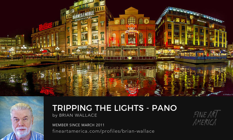 Tripping The Lights - Pano by Brian Wallace