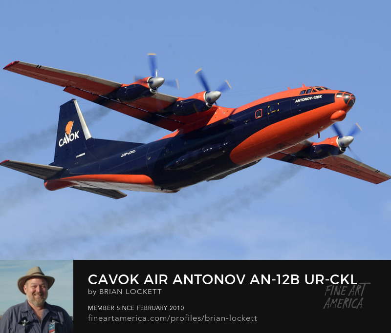 Cavok Air Antonov An-12B UR-CKL