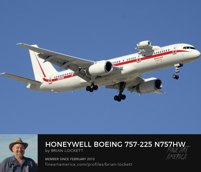 Honeywell Boeing 757-225 N757HW