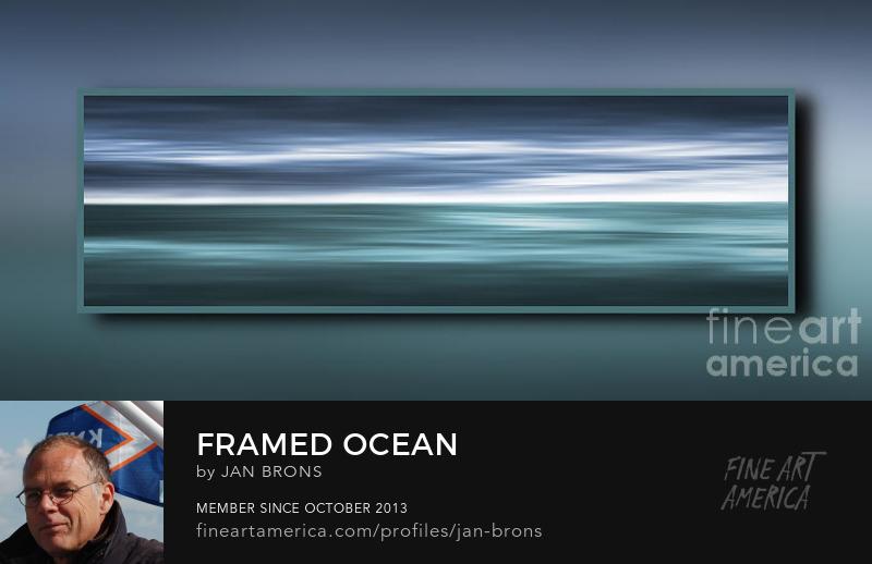 Framed Ocean - Photography Prints