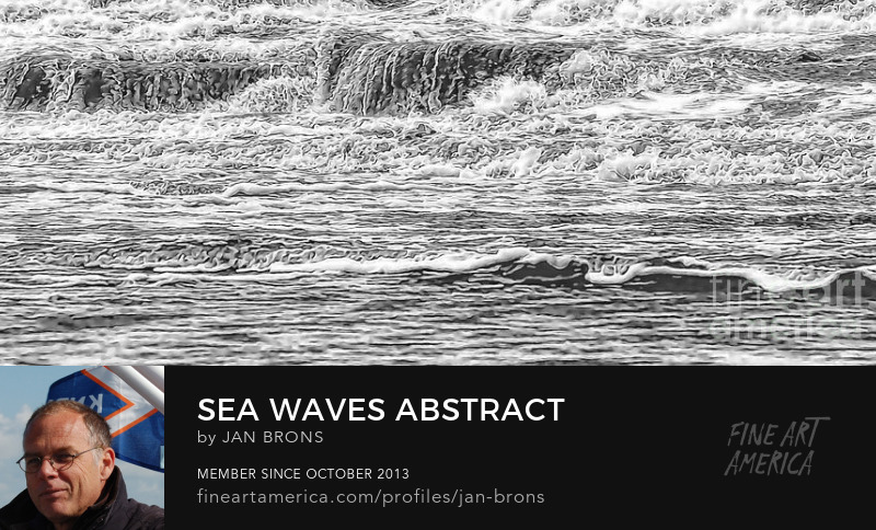Sea Waves Abstract - Art Online