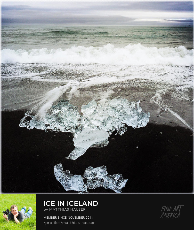Iceland Art Prints by Matthias Hauser