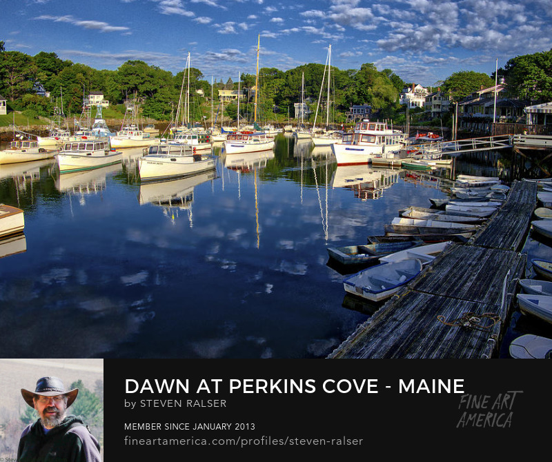 Perkins Cove, Southern Maine