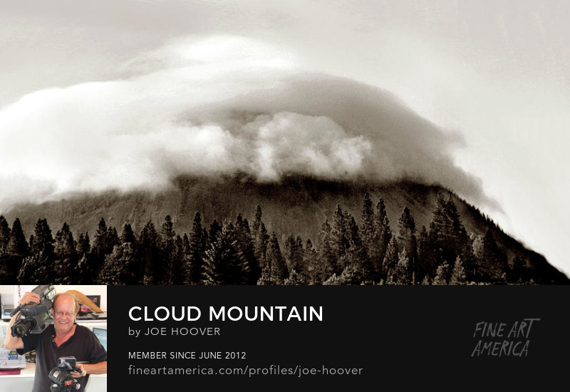 Order a fine art print of Cloud Mountain