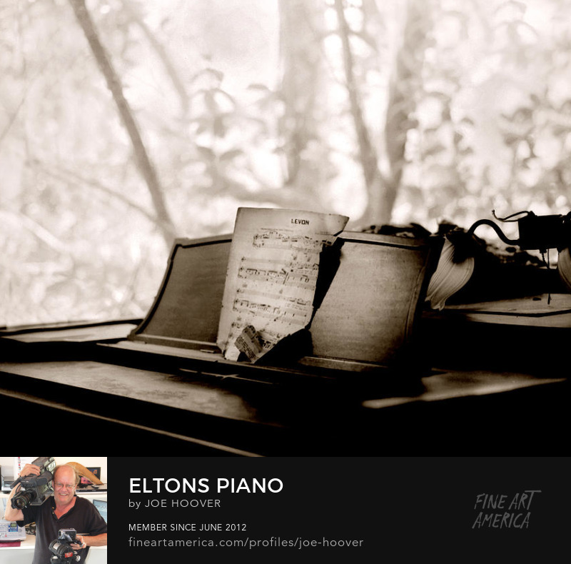 Order a print of Elton's Piano