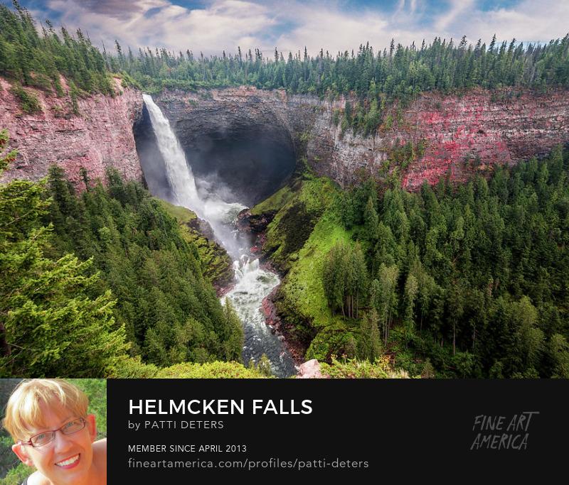 waterfall, Helmcken, landscape ©patti-deters@pixels.com