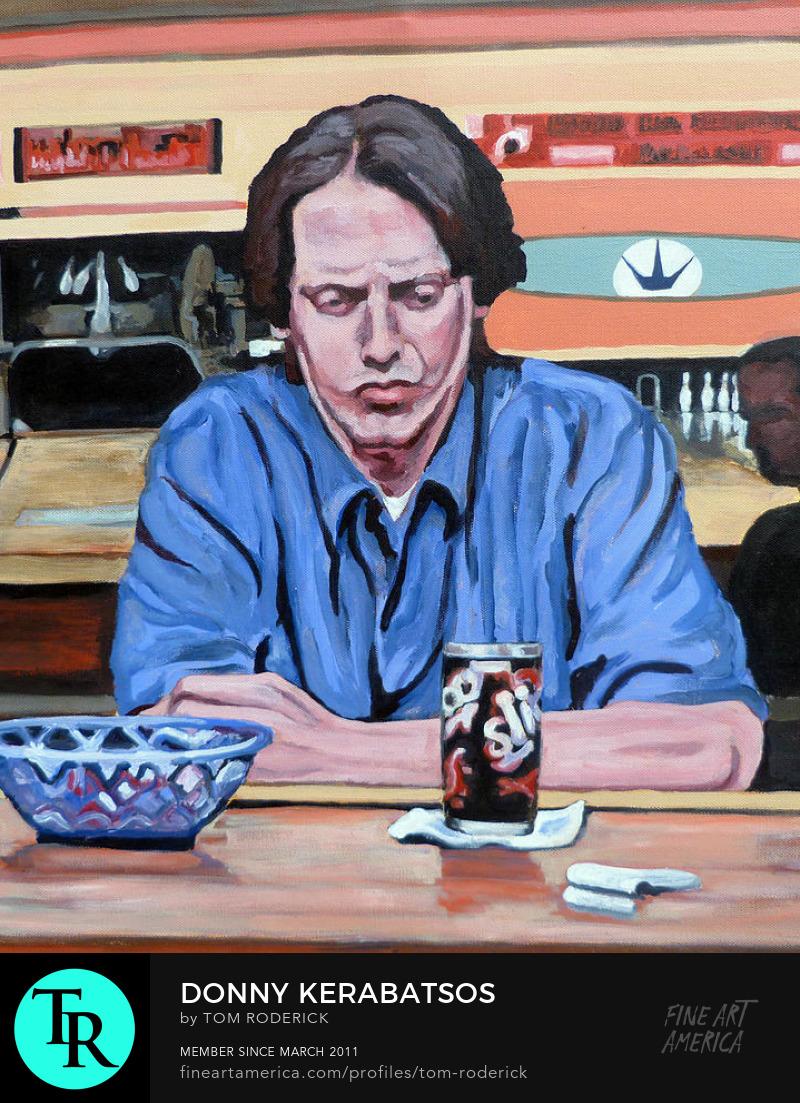 Portrait of Donny Kerabatsos by Boulder portrait artist Tom Roderick