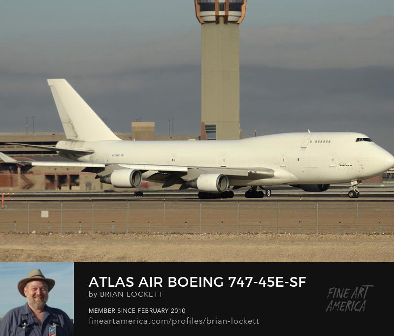 Atlas Air Boeing 747-45E-SF N473MC Phoenix Sky Harbor December 20 2015