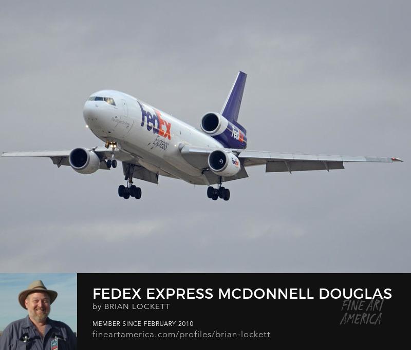 Fedex Express Mcdonnell Douglas MD-10-10F N359FE Arizona Phoenix Sky Harbor December 23 2015