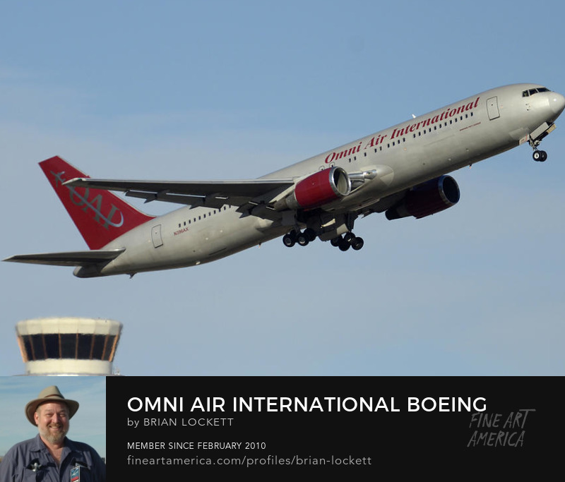Omni Air International Boeing 767-319 N396AX Arizona Phoenix Sky Harbor January 2, 2016