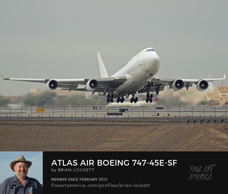 Atlas Air Boeing 747-45E-SF N473MC Arizona Phoenix Sky Harbor December 24 2015