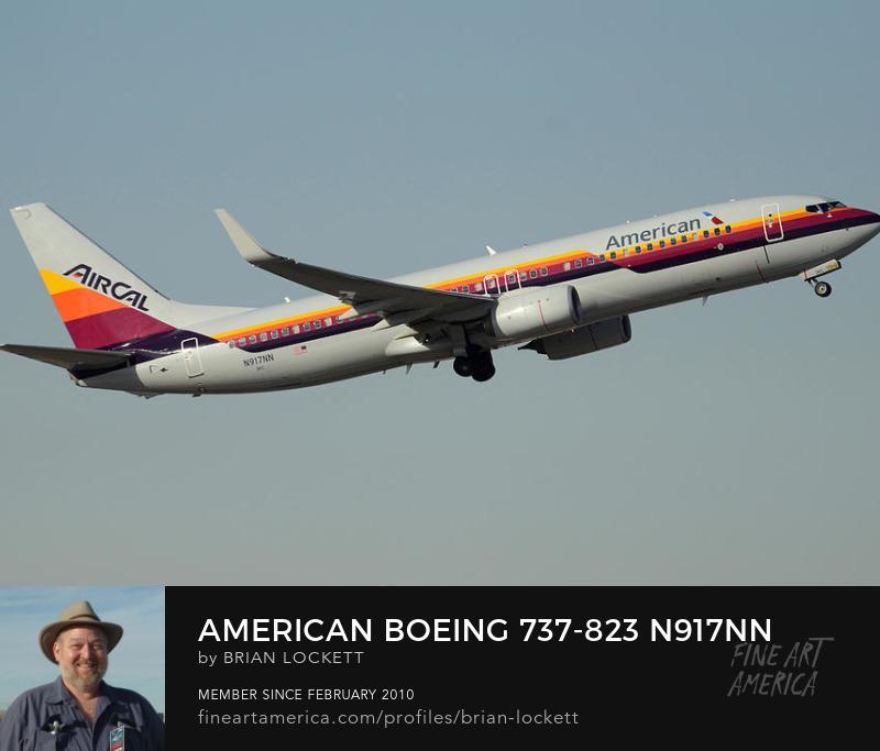 American Boeing 737-823 N917NN Aircal Phoenix Sky Harbor December 31 2015
