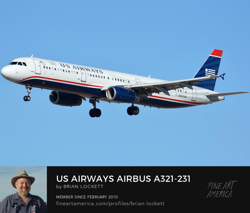 US Airways Airbus A321-231 N567UW, Phoenix Sky Harbor, January 12, 2015