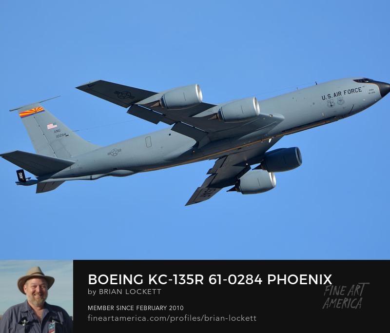 Boeing KC-135R 61-0284, Phoenix Sky Harbor, January 19, 2016
