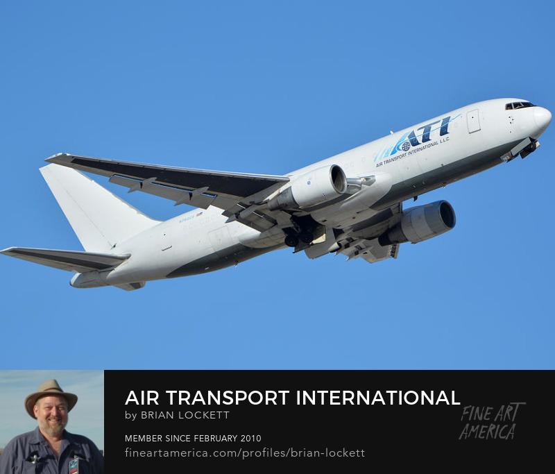 Air Transport International Boeing 767-232 N763CX, Phoenix Sky Harbor, January 19, 2016