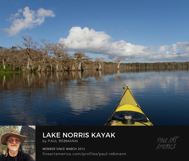 Lake Norris Kayak by Paul Rebmann