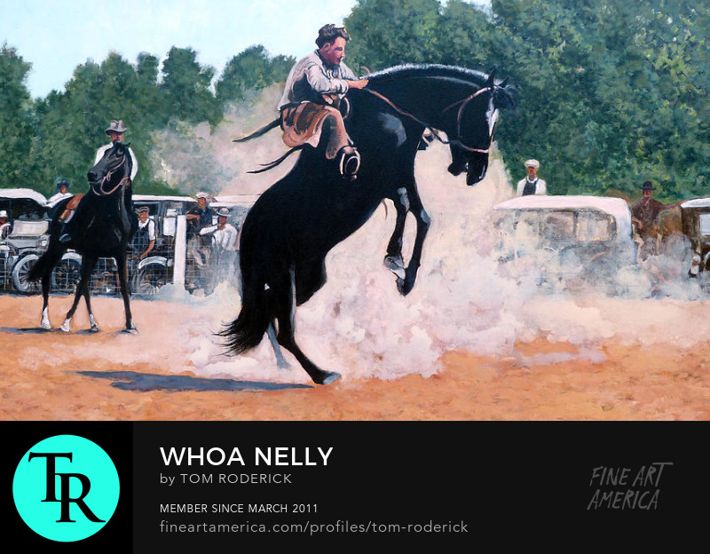 Whoa Nelly by Boulder artist Tom Roderick